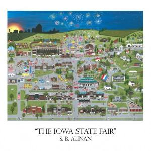 Iowa State Fair card