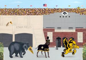 History of Iowa Mascots