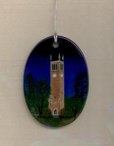 ISU Midnight ornament