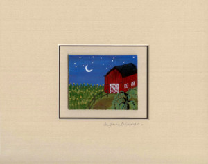 Moonlit Farm matted.jpeg 100
