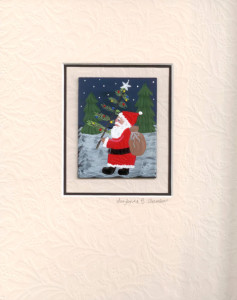 Santa Hiking matted 100