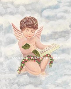Reading Angel Boy