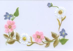 floral border aunan