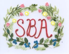 monogram floral aunan