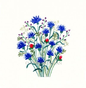Cornflower Bouquet