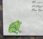 frog painted aunan
